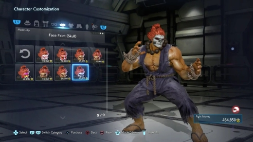 character customization tekken